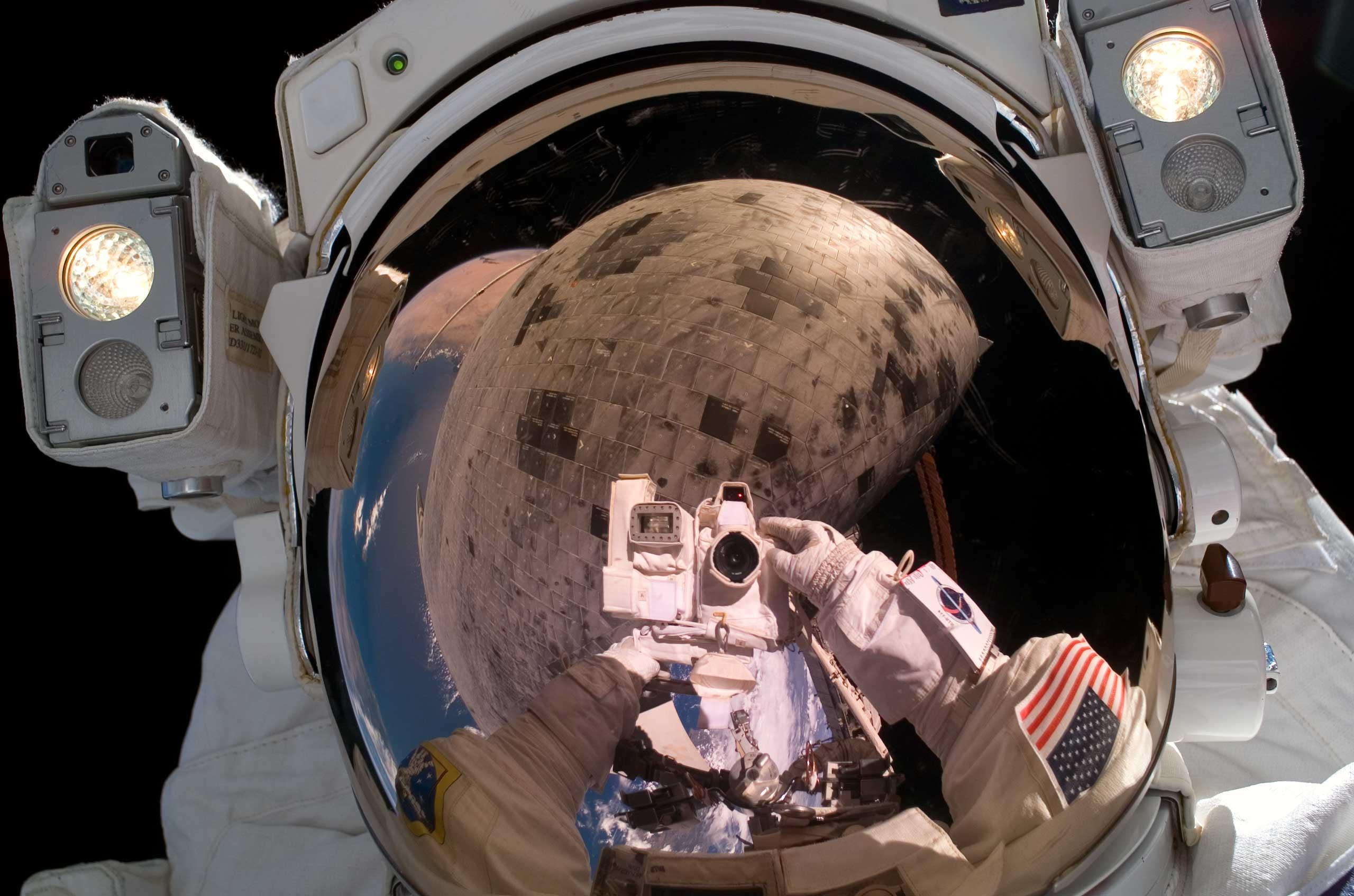 Astronaut Stephen K. Robinson