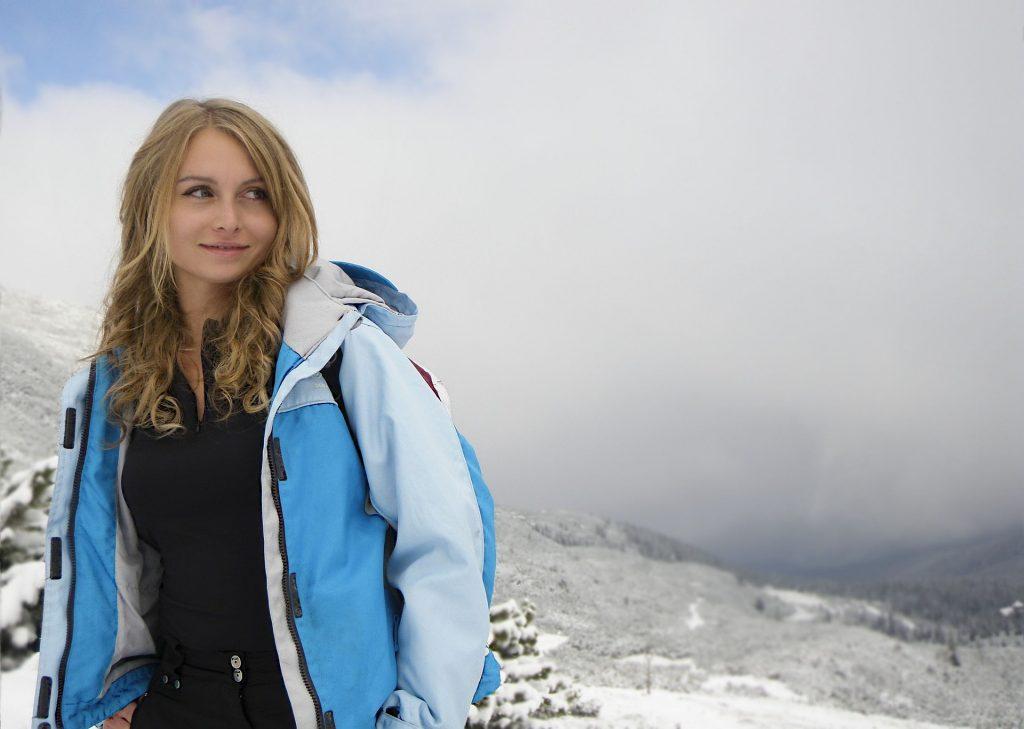 winter walking jacket