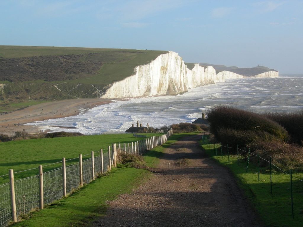seven sisters walking trail south-east england