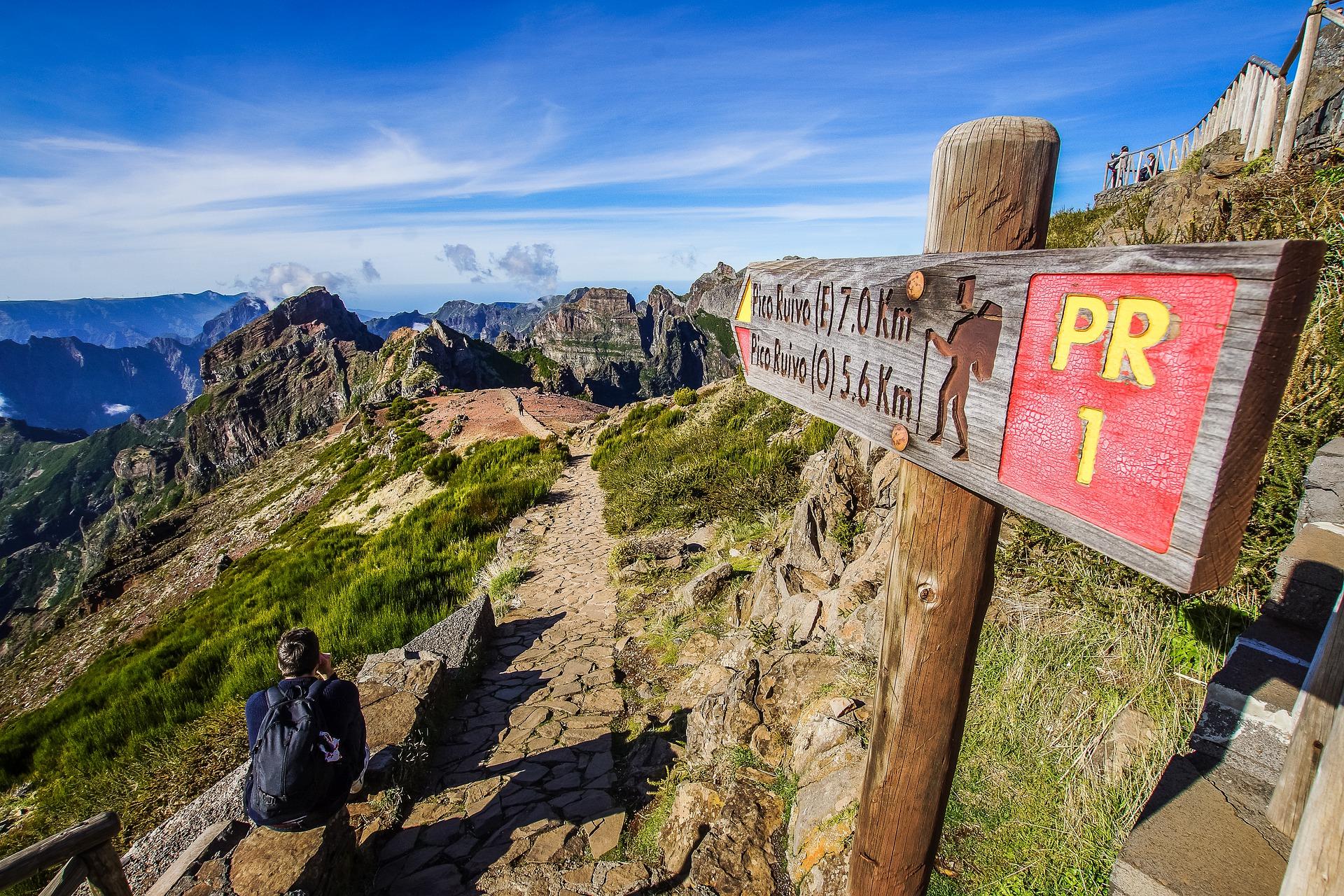 Madeira walking path
