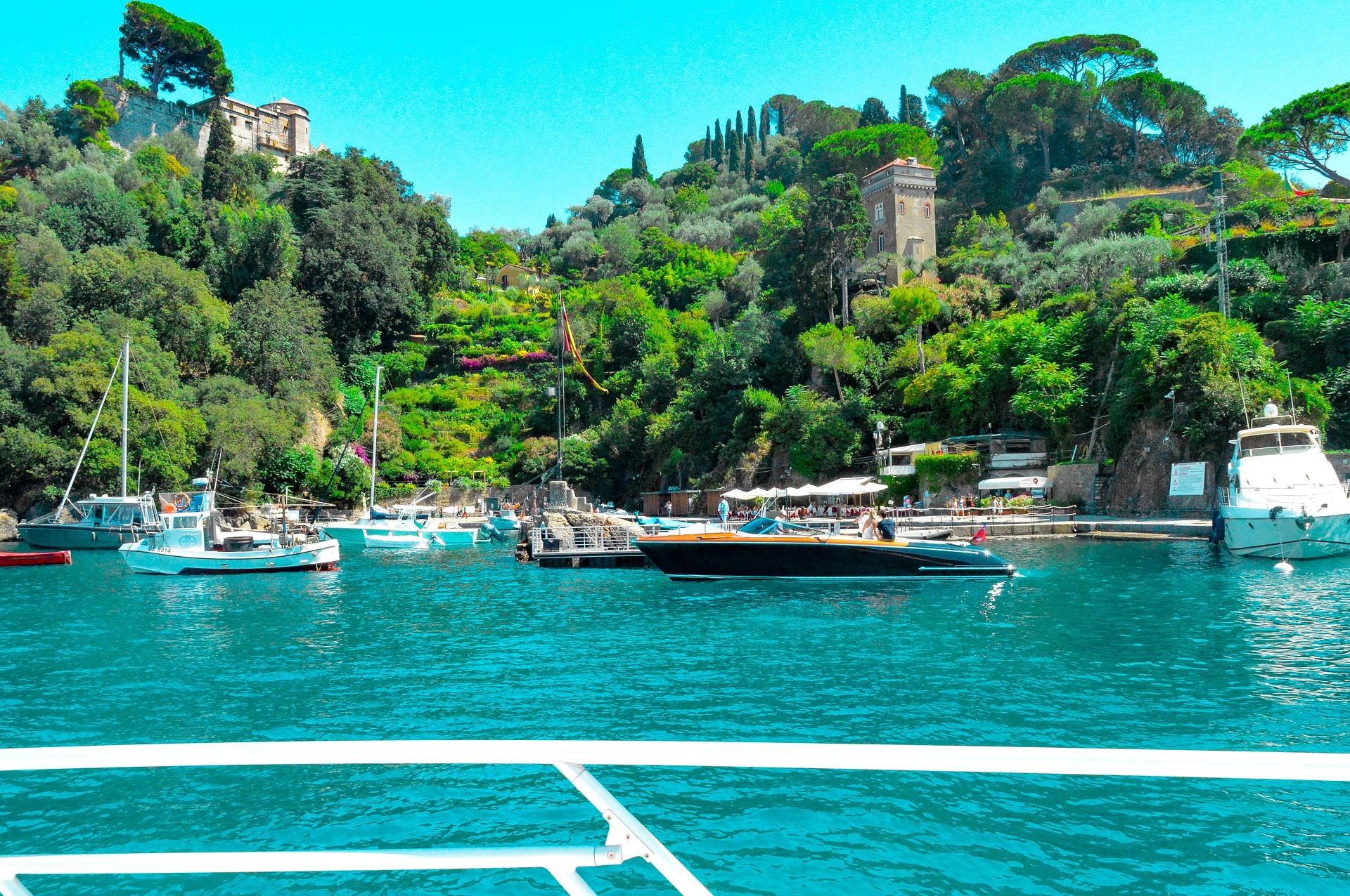 Walking in Ligurian Riviera