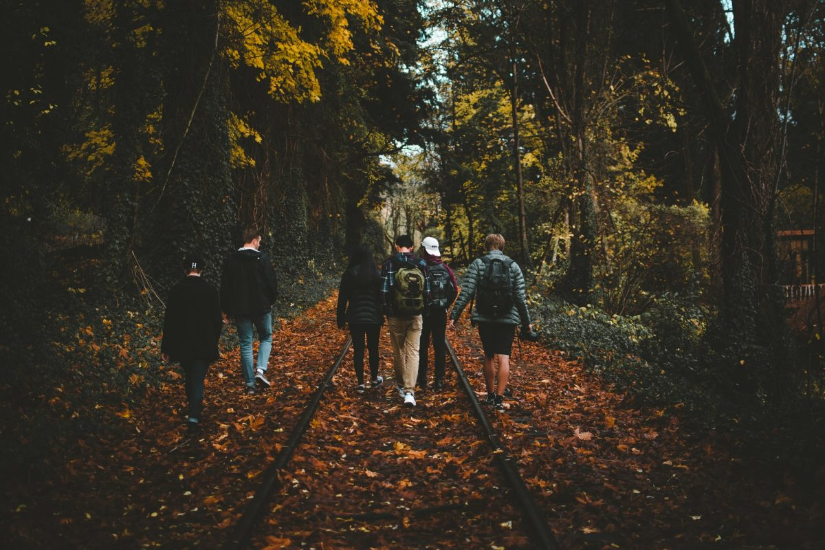 Group walking